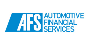 Automotive Financial Services logo in blue